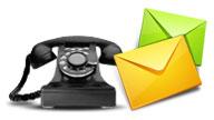 電話とメール