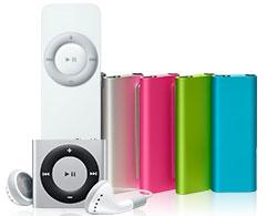 iPod shuffleの画像